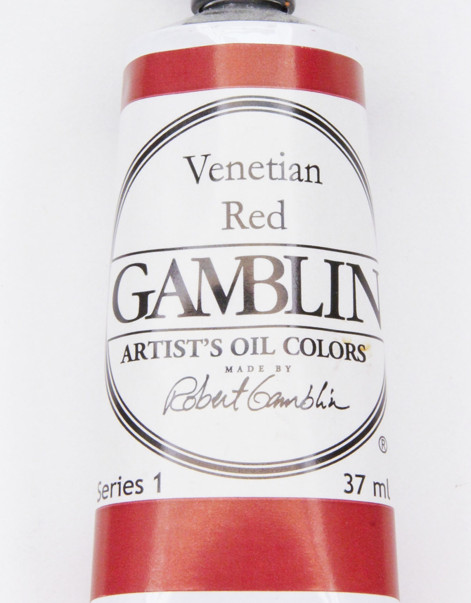 Gamblin Oil Paint, Venetian Red, Series 1, Tube 37ml