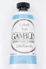 Gamblin Oil Paint, Cobalt Teal, Series 4, Tube 37ml