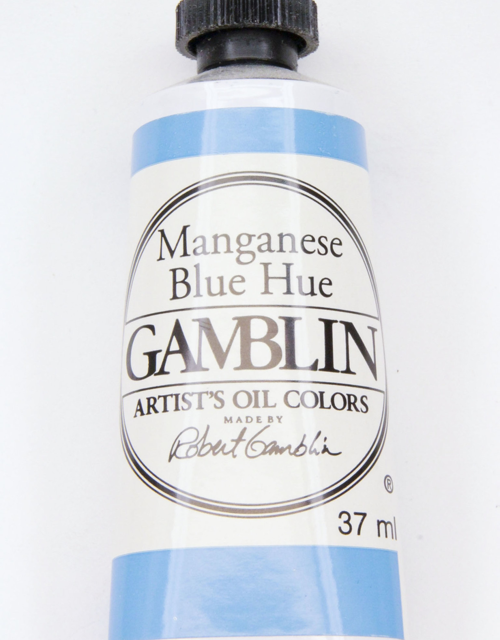Gamblin Oil Paint, Manganese Blue Hue, Series 2, Tube 37ml