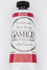 Gamblin Oil Paint, Cadmium Red Deep, Series 5, Tube 37ml