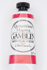 Gamblin Oil Paint, Quinacridone Magenta, Series 3, Tube 37ml