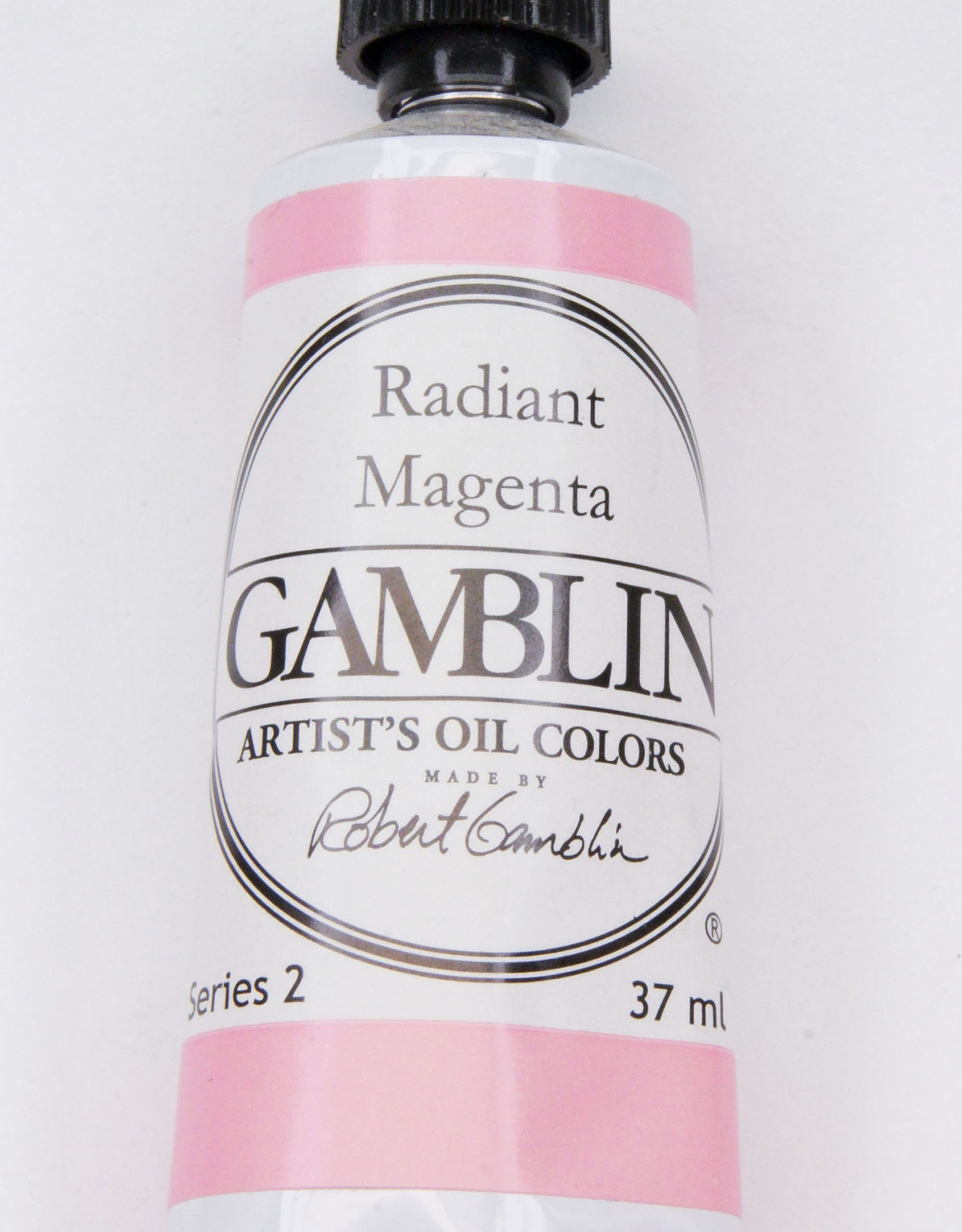 Gamblin Oil Paint, Radiant Magenta, Series 2, Tube 37ml