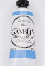 Gamblin Oil Paint, Cerulean Blue, Series 6, Tube 37ml