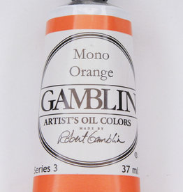 Gamblin Oil Paint, Mono Orange, Series 3, Tube 37ml