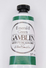 Gamblin Oil Paint, Emerald Green, Series 2, Tube 37ml