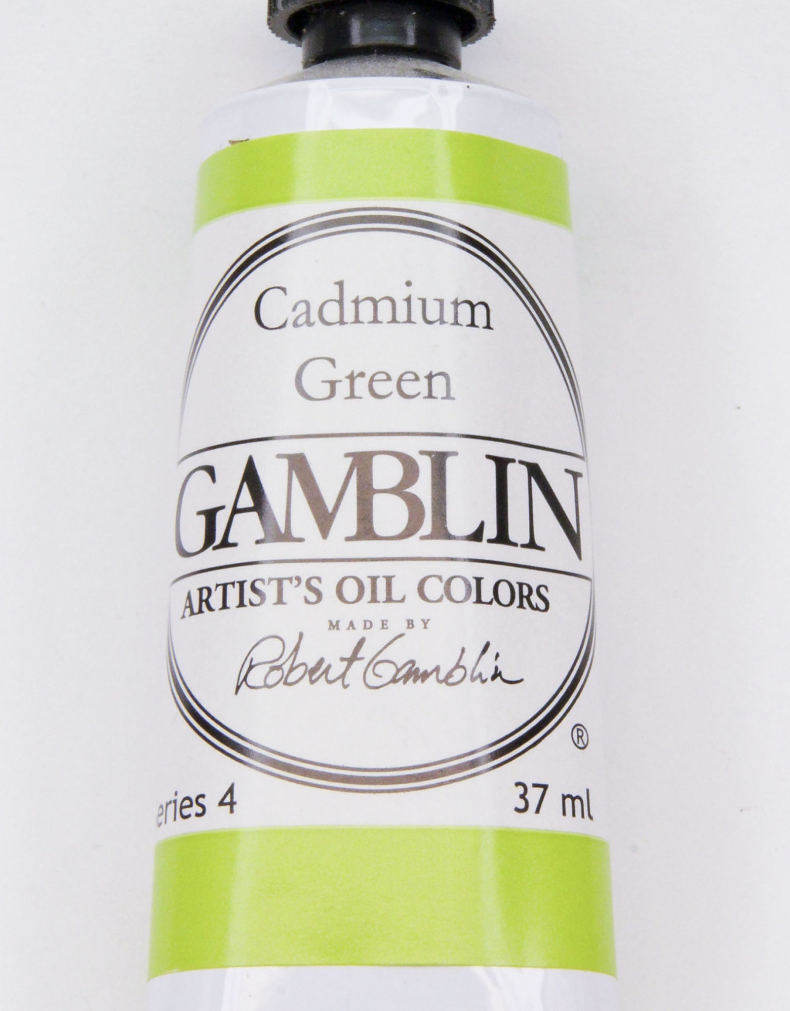 Gamblin Oil Paint, Cadmium Green, Series 4, Tube 37ml