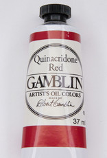 Gamblin Oil Paint, Quinacridone Red, Series 3, Tube 37ml