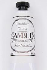 Gamblin Oil Paint, Titanium White, Series 1, Tube 37ml