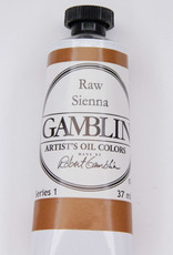 Gamblin Oil Paint, Raw Sienna, Series 1, Tube 37ml
