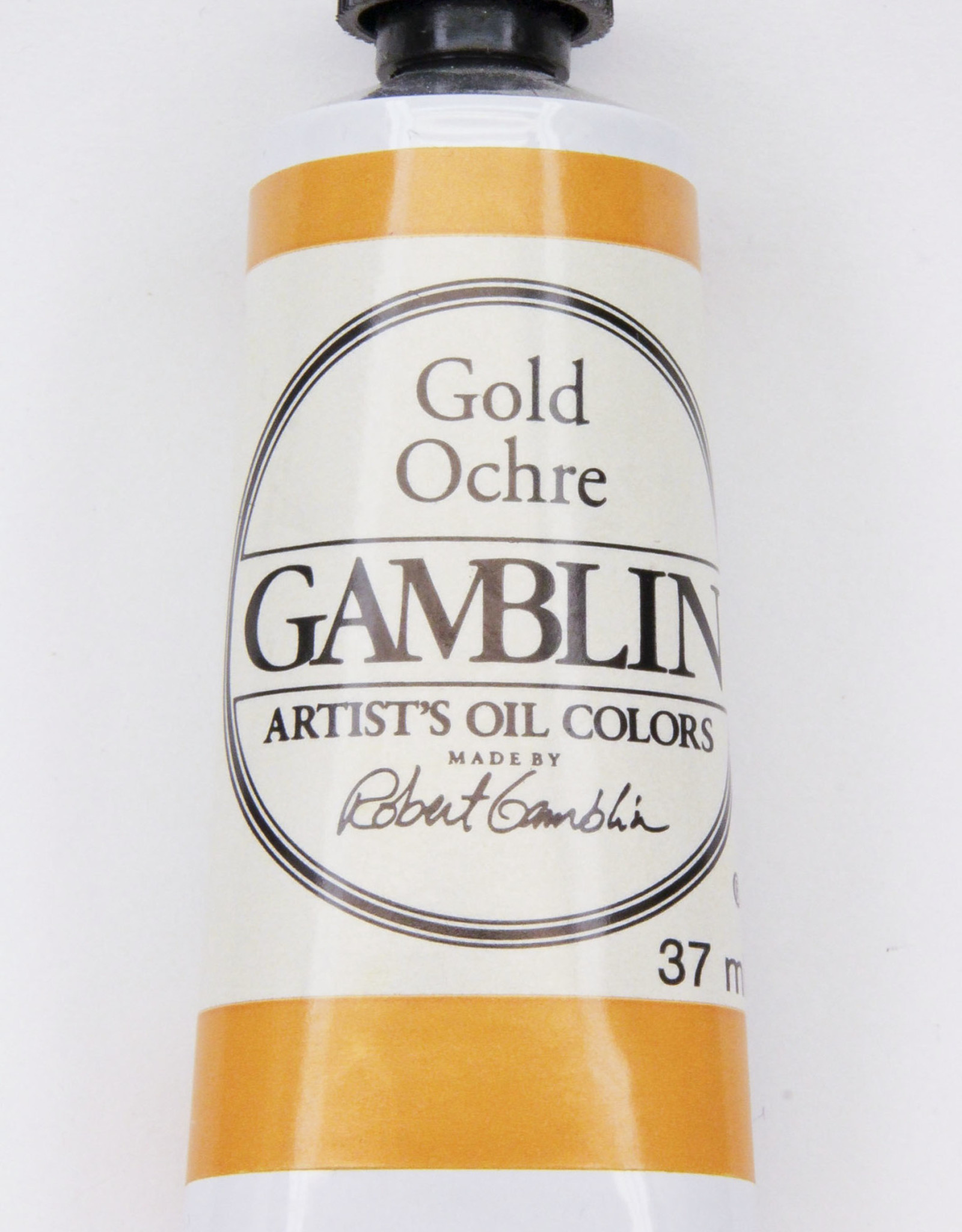 Gamblin Oil Paint, Gold Ochre, Series 2, Tube 37ml