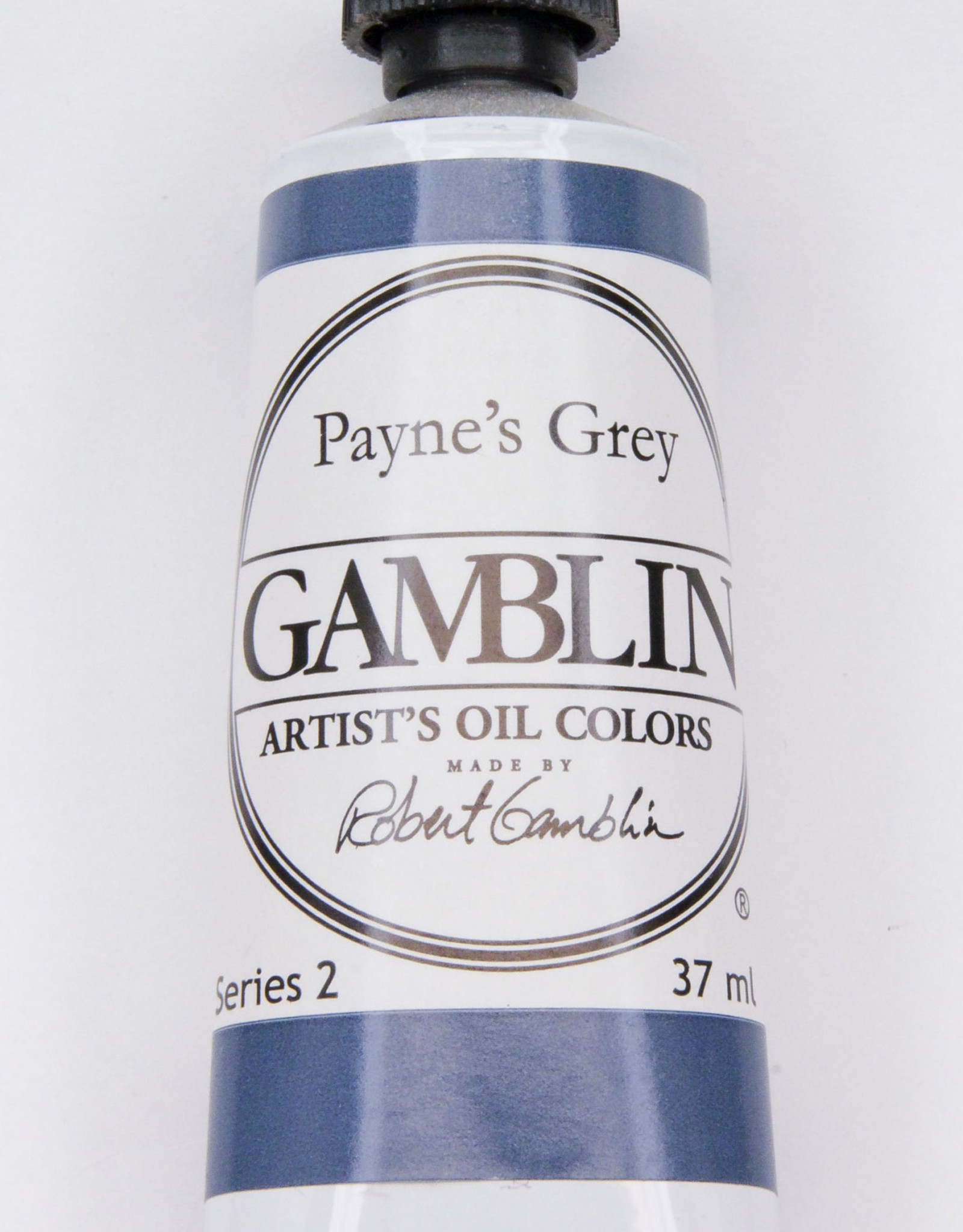 Gamblin Oil Paint, Payne's Grey, Series 2, Tube 37ml