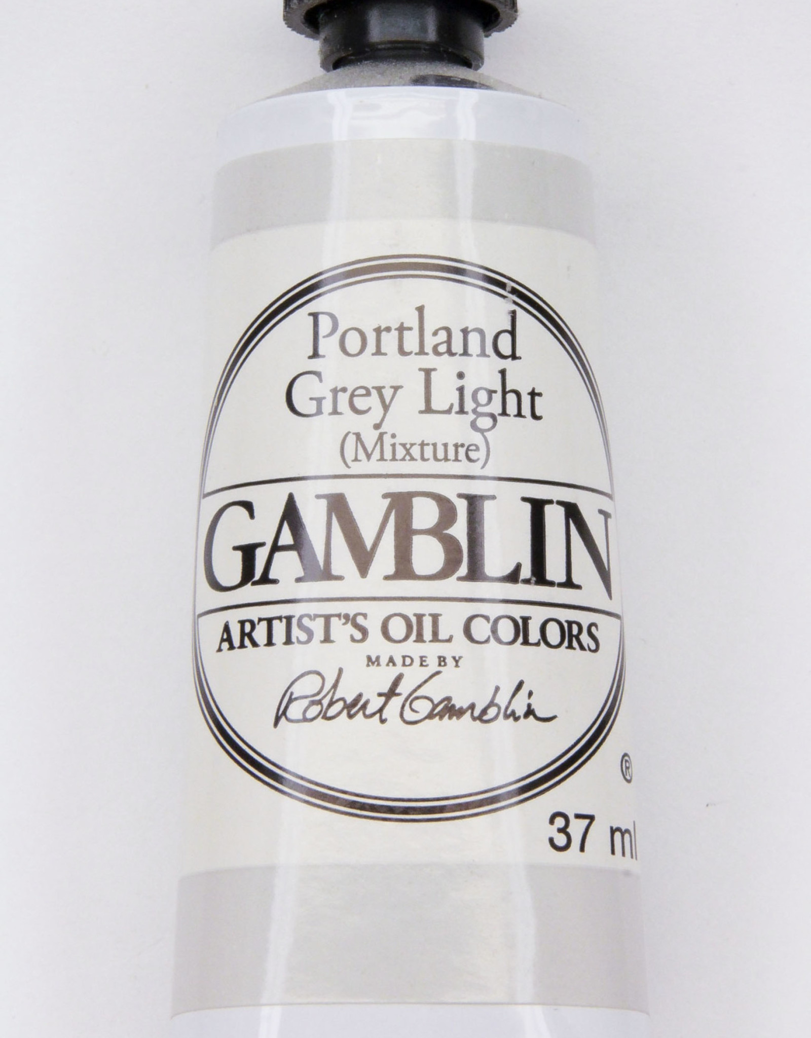 Gamblin Oil Paint, Portland Grey Light, Series 2, Tube 37ml