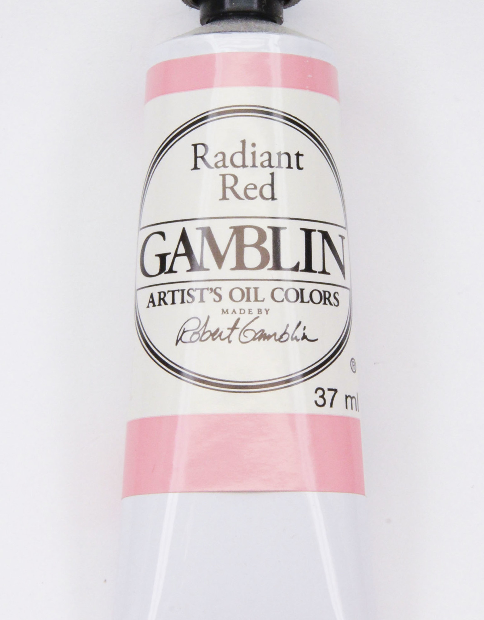 Gamblin Oil Paint, Radiant Red, Series 2, Tube 37ml