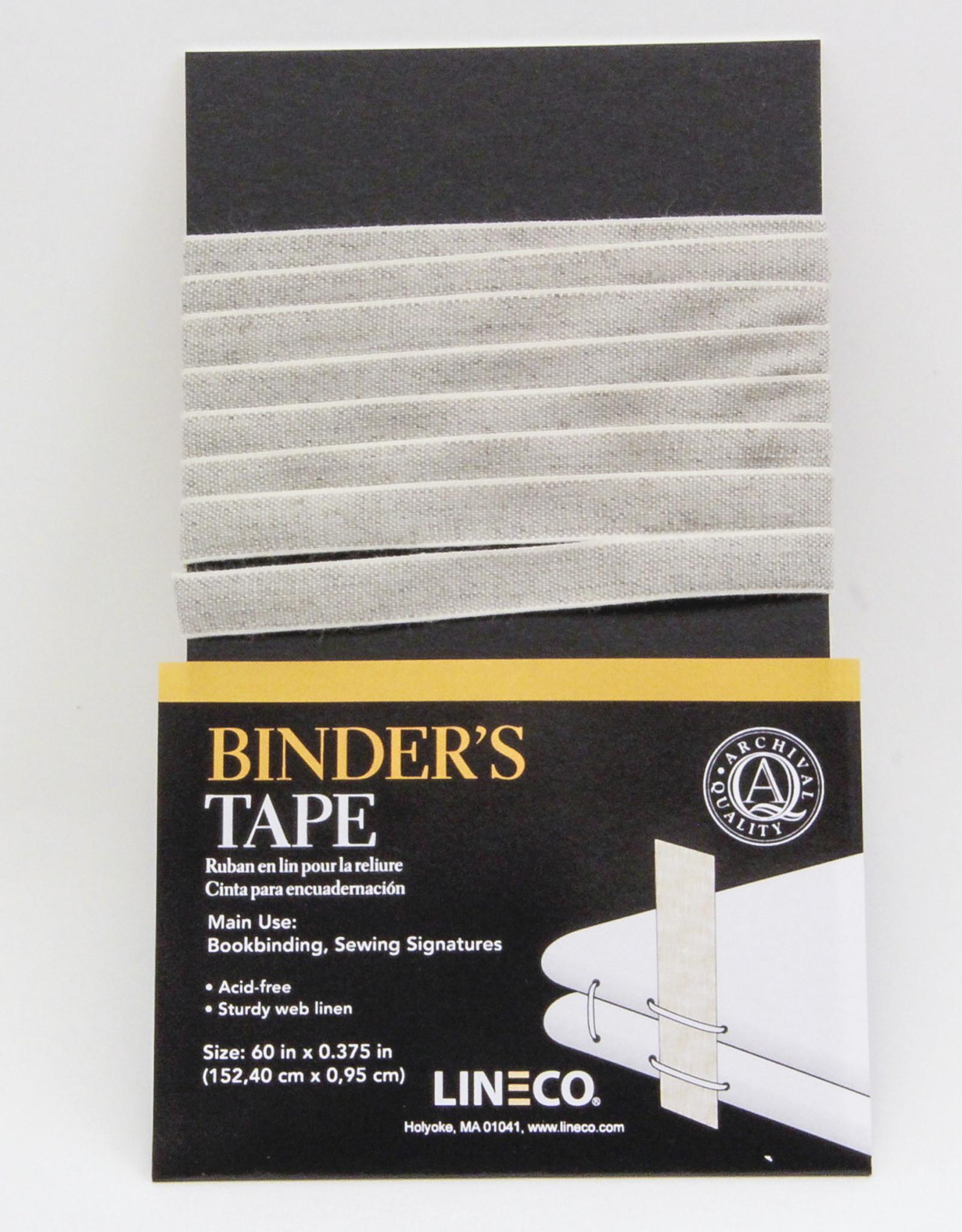 """Binder's Tape, Sturdy, Acid Free, Archival Quality, 60"""" x 0.375"""""""