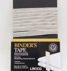 "Binder's Tape, Sturdy, Acid Free, Archival Quality, 60"" x 0.375"""