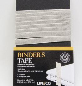 "Domestic Binder's Tape, Sturdy, Acid Free, Archival Quality, 60"" x 0.375"""