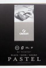 "Canson Pastel Black Mi-Teintes Sketch Book 12"" X 16""  16 pages"
