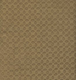 "Embossed Ellipses Olive Green, 19"" X 28"""