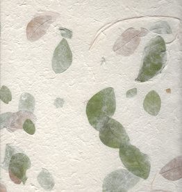 "Thai Garden Raintree Leaves, 22"" x 30"""