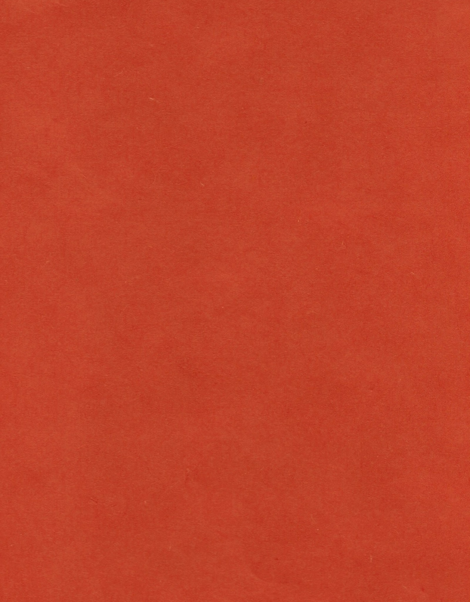 """Thai Mulberry Persimmon (Red Orange), 25"""" x 37"""""""