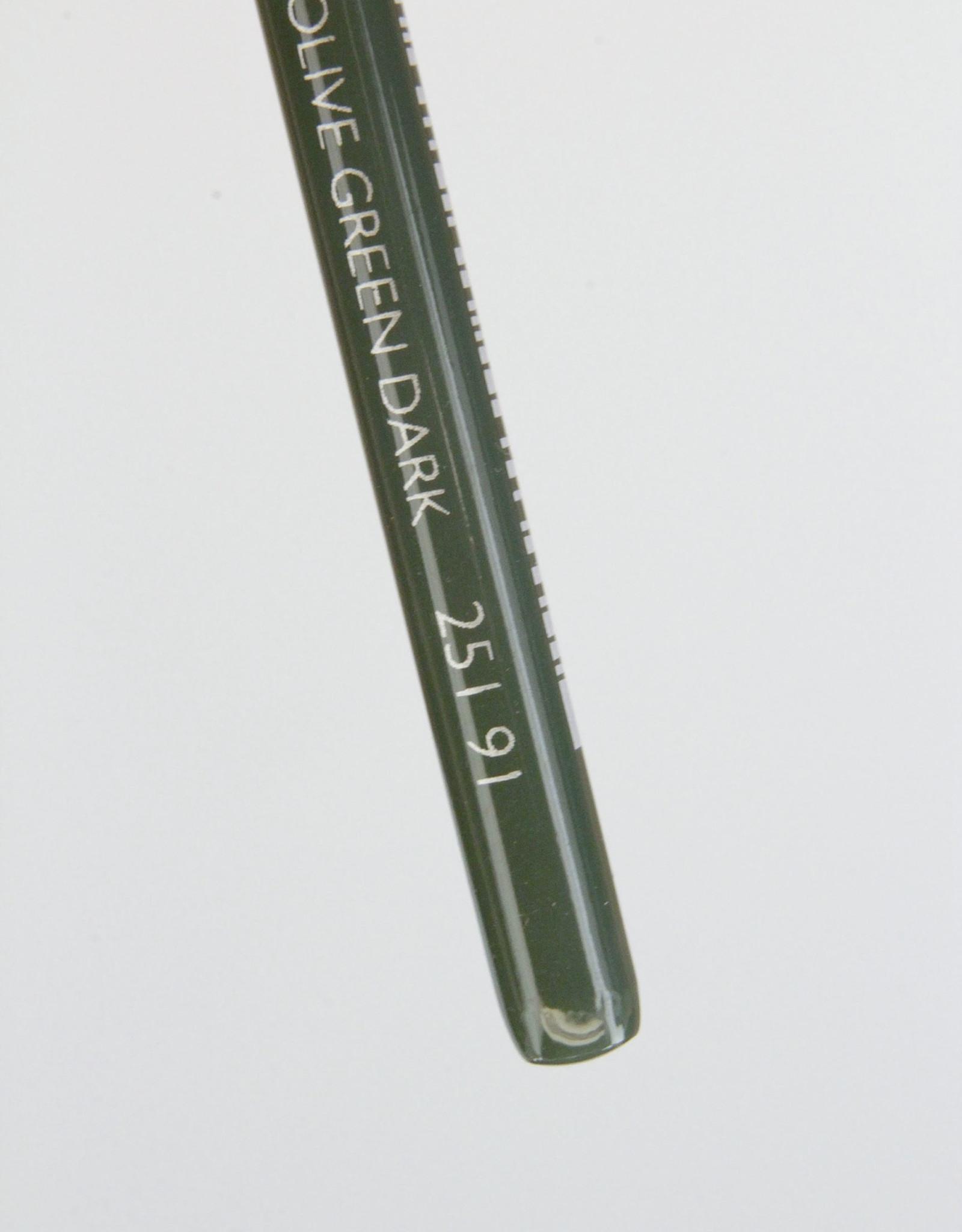 Cretacolor, Aqua Monolith Pencil, Olive Green Dark