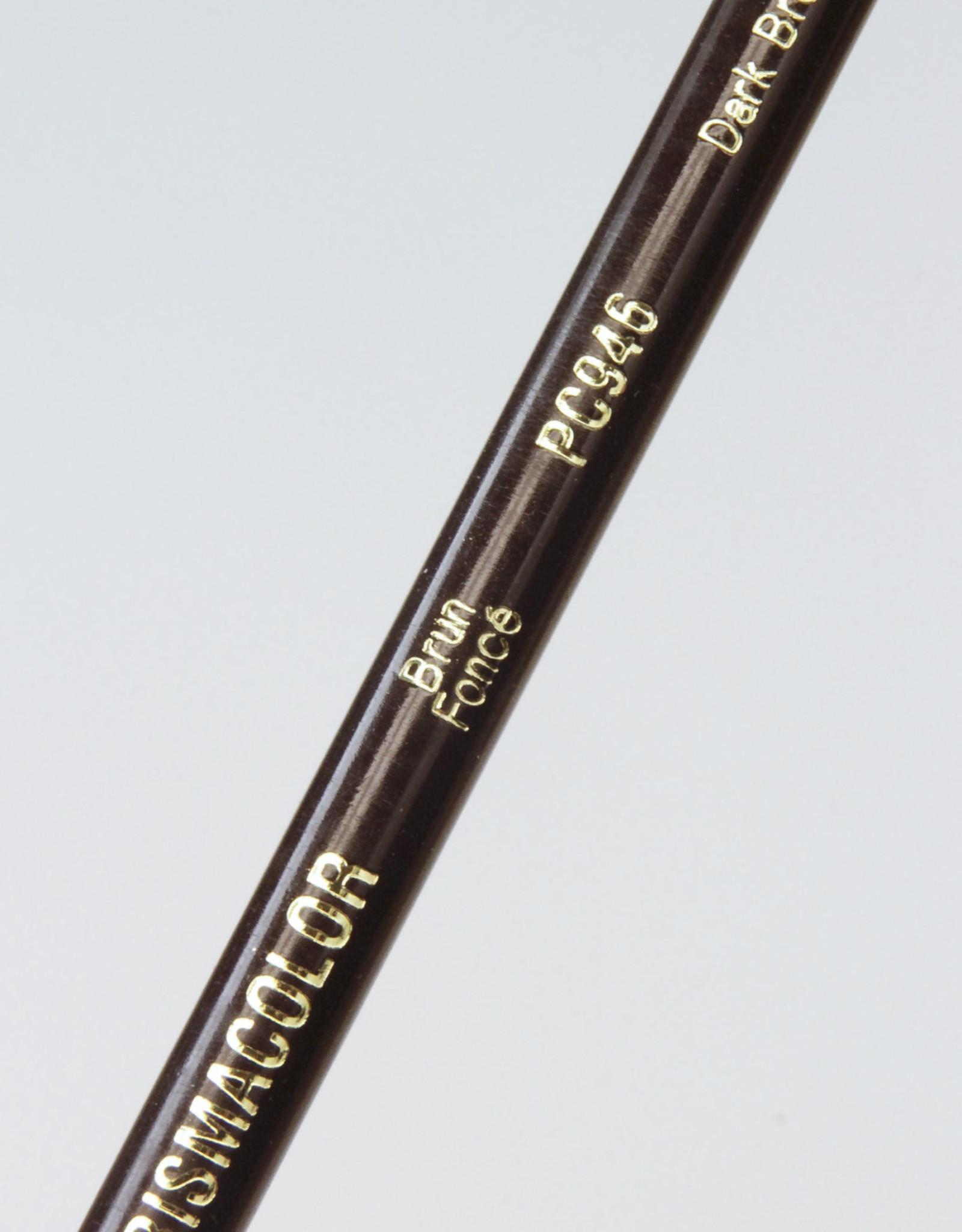 Prismacolor Pencil, 946: Dark Brown