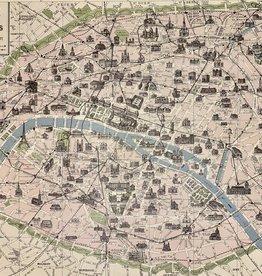 """Cavallini Paris Monument, Poster Print, 20"""" x 28"""""""