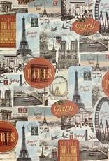 "Cavallini Paris Joyeux Noel, Poster Print, 20"" x 28"""