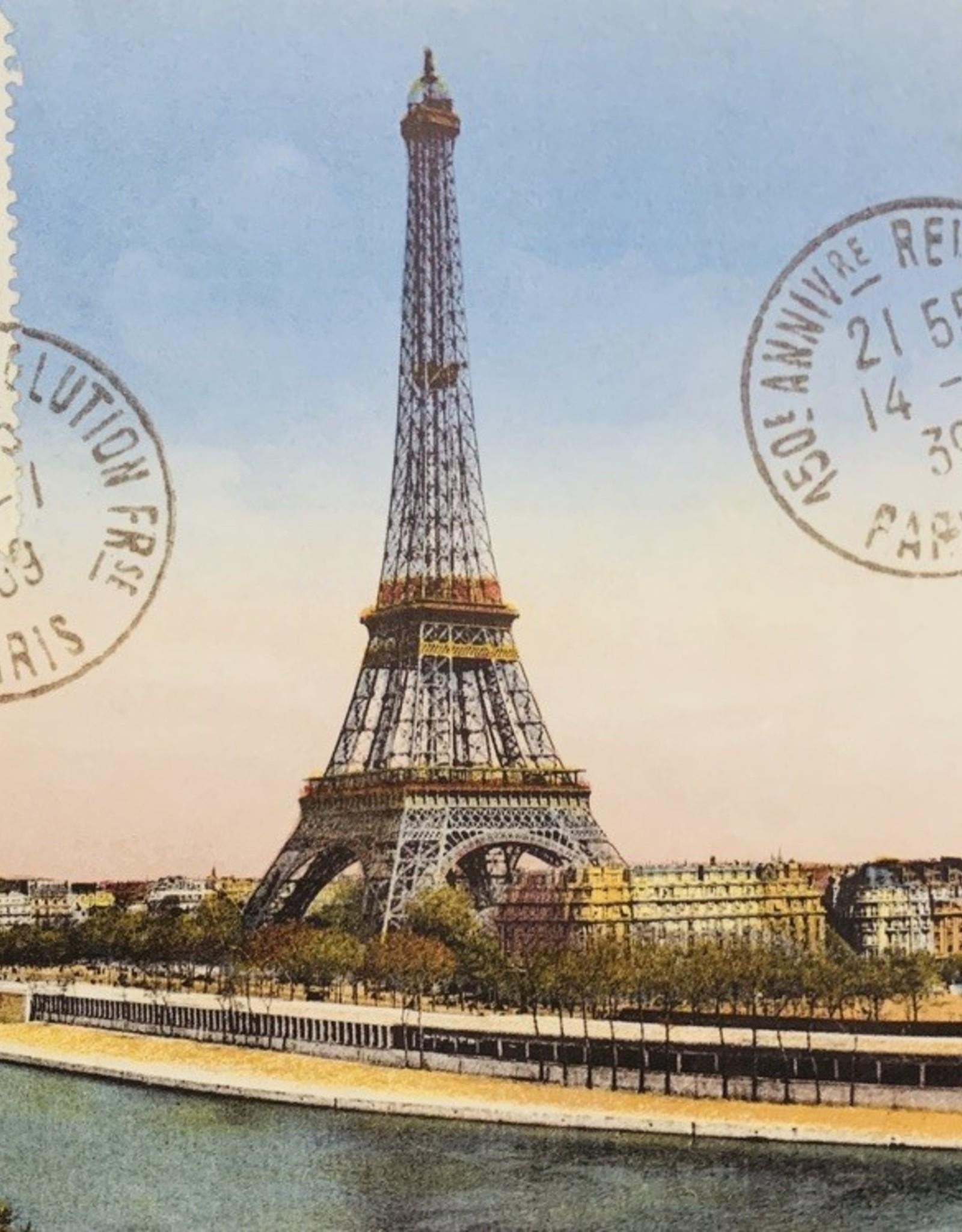 """Cavallini Eiffel Tower, Cavallini Poster Print, 20"""" x 28"""""""