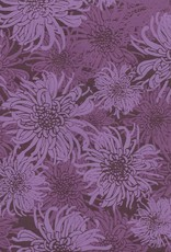 "Laurelai Chrysanthemum on Purple, 20"" x 28"""