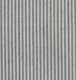 """Indian Grey Stripes, 22"""" x 30"""""""