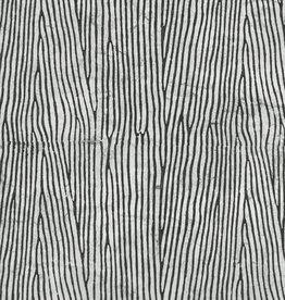 """Woodgrain Black/White, 20"""" x 28"""""""