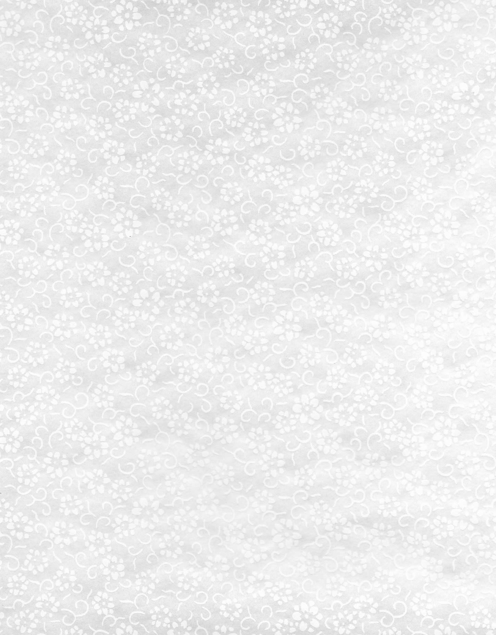 "Japanese Rayon Lace, Daisies, 21"" x 31"""