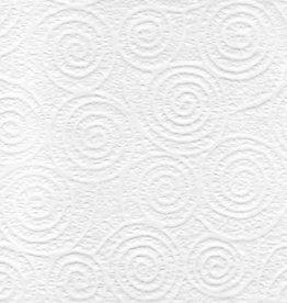 "Japan Uzumaki Lace White, 21"" x 31"""