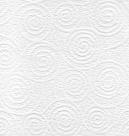 "Japanese Uzumaki Lace White, 21"" x 31"""