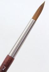 Raphael, Mini Precision Round, Size 2, Watercolor Brush