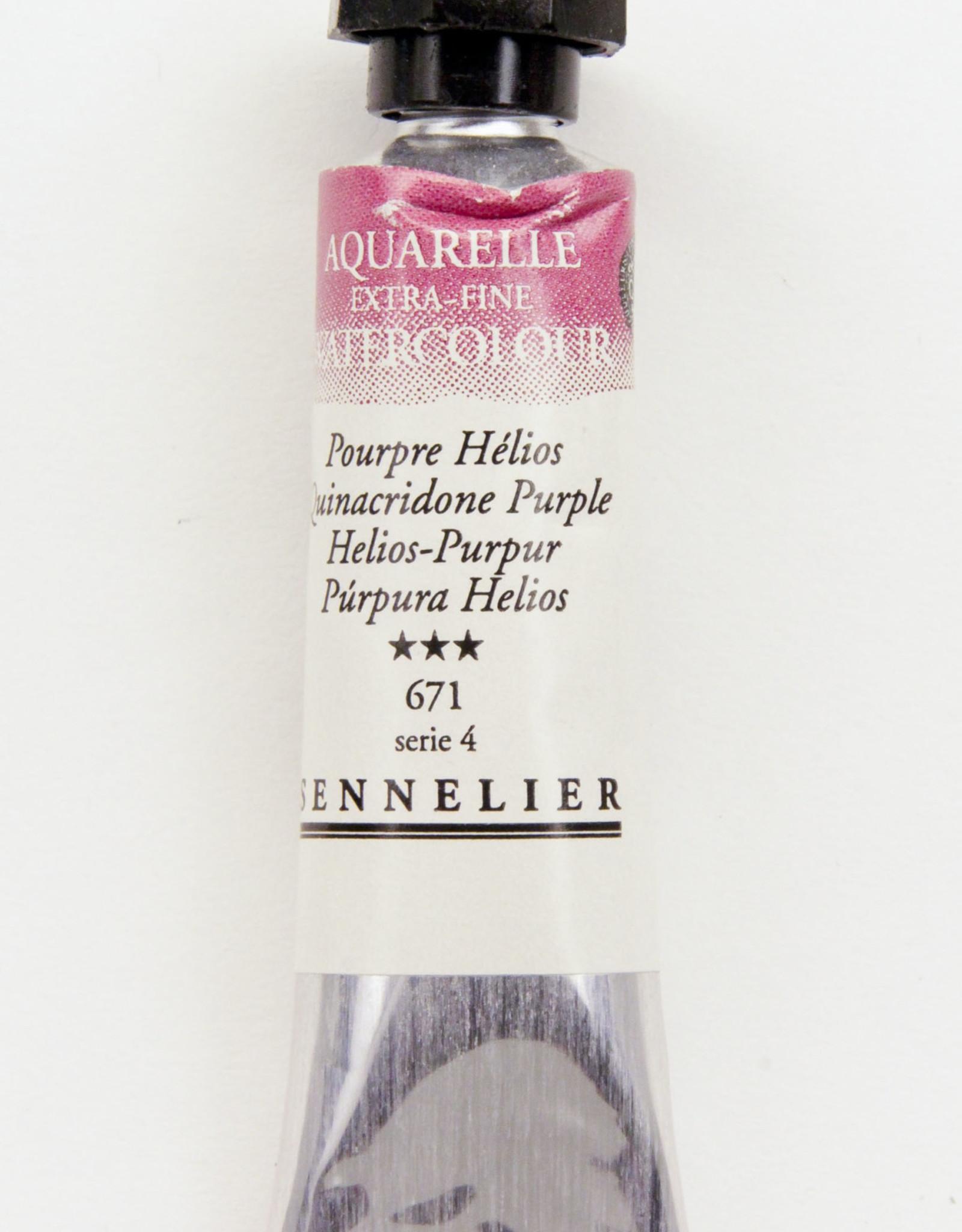 Sennelier, Aquarelle Watercolor Paint, Helios Purple, 671,10ml Tube, Series 3