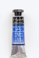 Sennelier, Aquarelle Watercolor Paint, Phthalo Blue, 326,10ml Tube, Series 1