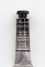 Sennelier, Aquarelle Watercolor Paint, Ivory Black, 755,10ml Tube, Series 1