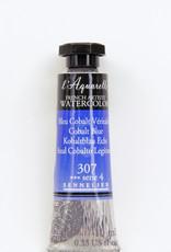 Sennelier, Aquarelle Watercolor Paint, Cobalt Blue, 307, 10ml Tube, Series 4