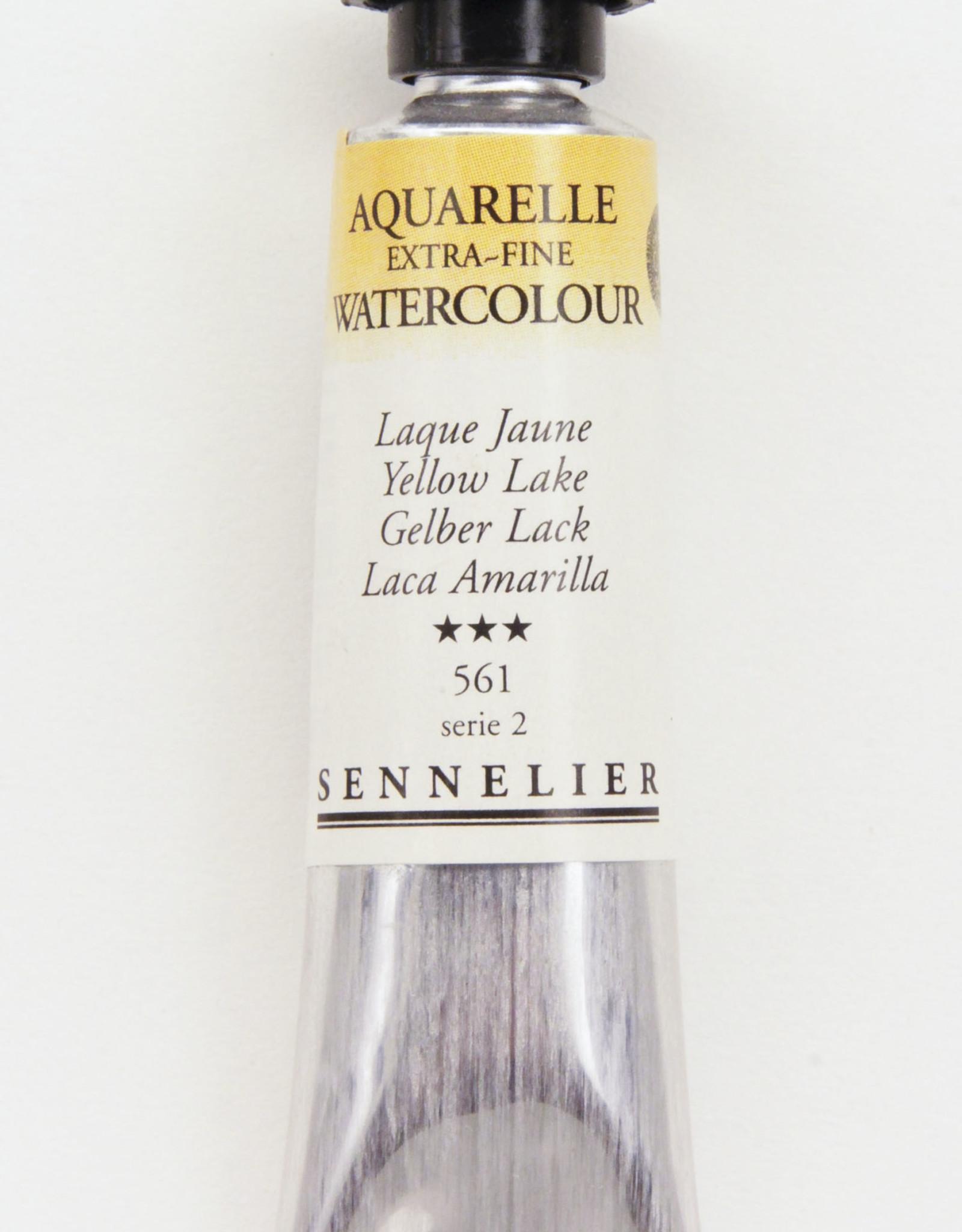 Sennelier, Aquarelle Watercolor Paint, Yellow Lake, 561,10ml Tube, Series 2