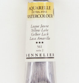 Sennelier, Aquarelle Watercolor Paint, Yellow Lake, 561,10ml Tube, Series 2
