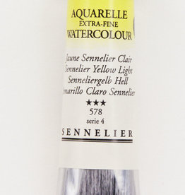 Sennelier, Aquarelle Watercolor Paint, Yellow Light, 578,10ml Tube, Series 1