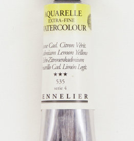 Sennelier, Aquarelle Watercolor Paint, Cadmium Lemon Yellow, 535, 10ml Tube, Series 4
