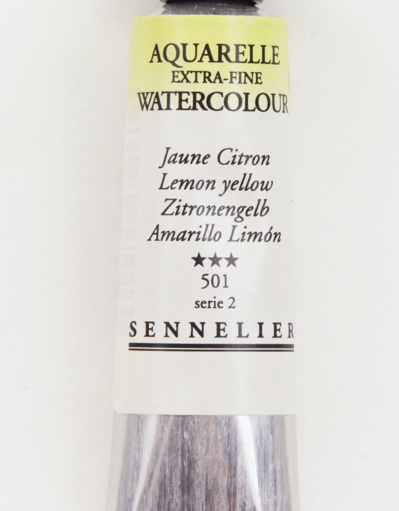 Sennelier, Aquarelle Watercolor Paint, Lemon Yellow, 501,10ml Tube, Series 1