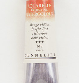 Sennelier, Aquarelle Watercolor Paint, Bright Red, 619,10ml Tube, Series 4