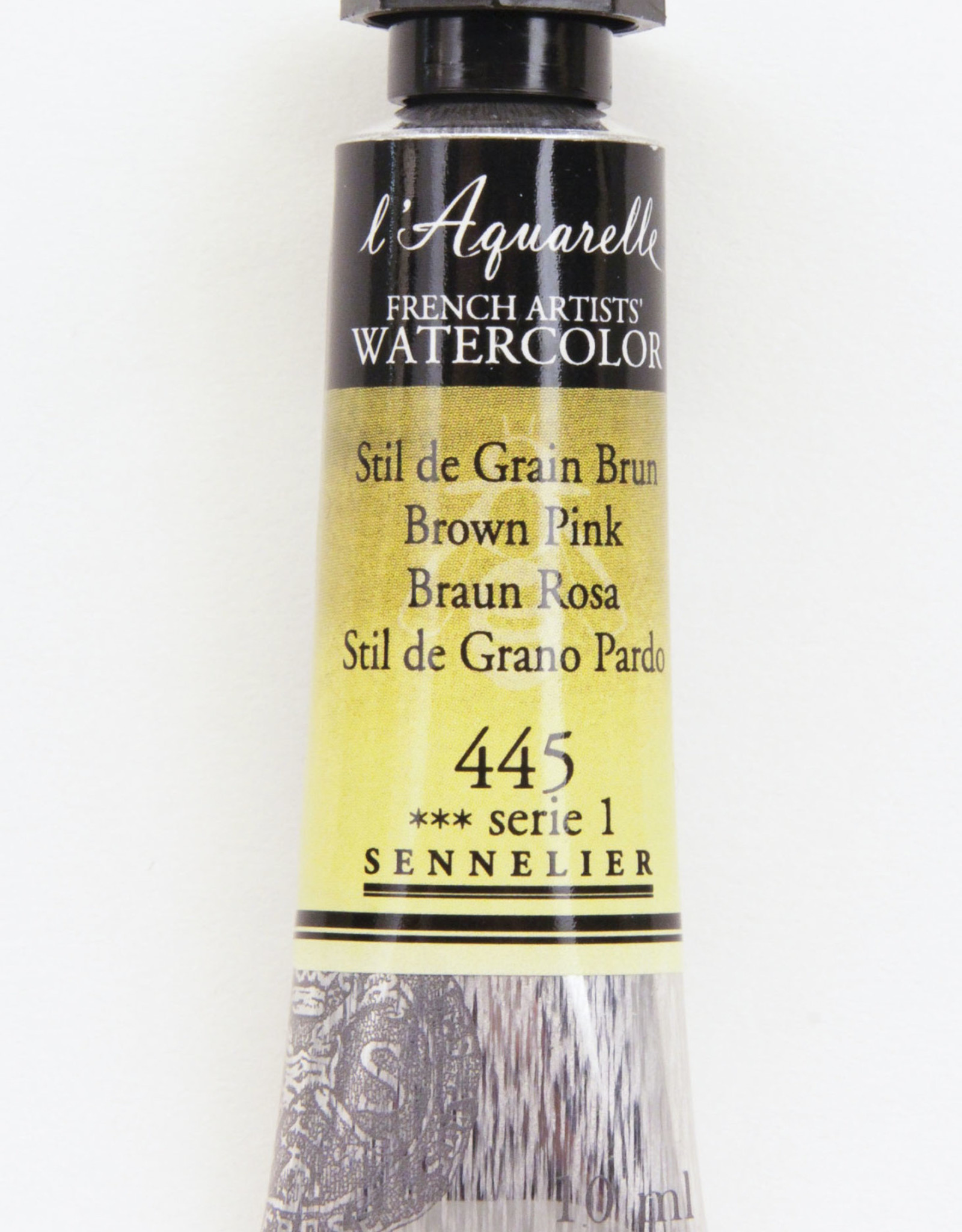 Sennelier, Aquarelle Watercolor Paint, Brown Pink, 445,10ml Tube, Series 1