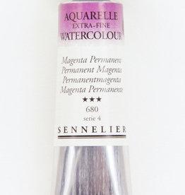 Sennelier, Aquarelle Watercolor Paint, Permanent Magenta, 680,10ml Tube, Series 4