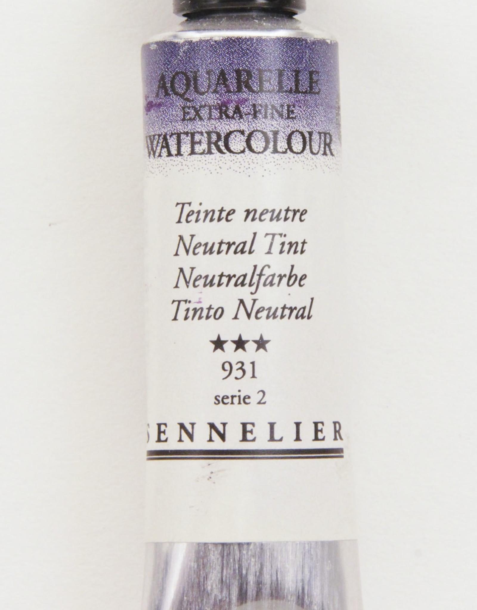 Sennelier, Aquarelle Watercolor Paint, Neutral Tint, 931,10ml Tube, Series 2