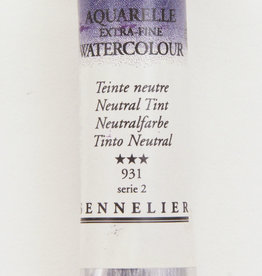Sennelier, Aquarelle Watercolor Paint, Neutral Tint, 931,10ml Tube, Series 2
